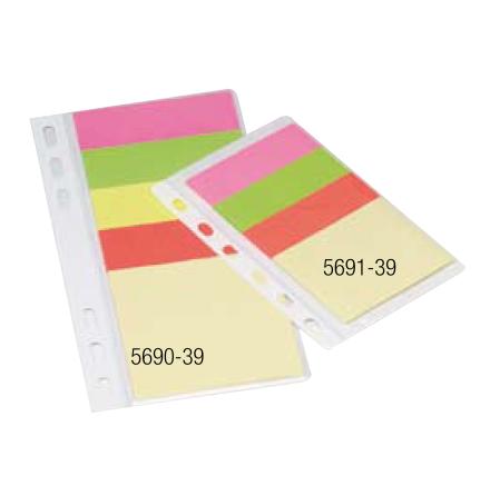 Häftisblock Diary Notes 1x50x60+3x20x60mm  60st blad