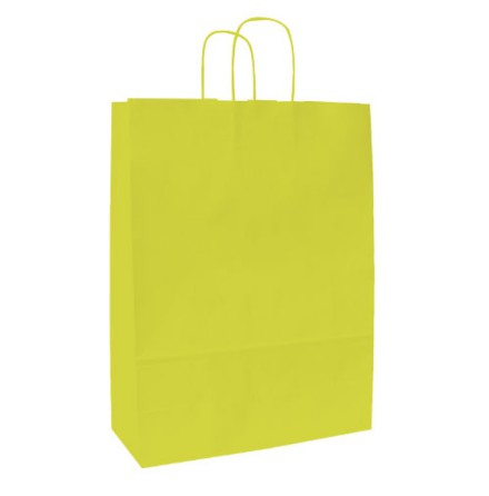 Spring Pappersbärkasse 420x130x370 Lime