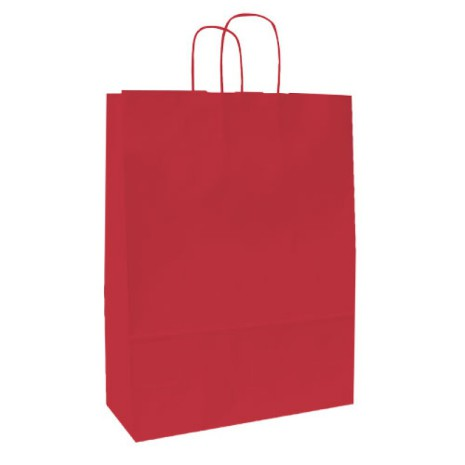 Spring Pappersbärkasse 420x130x370 Röd