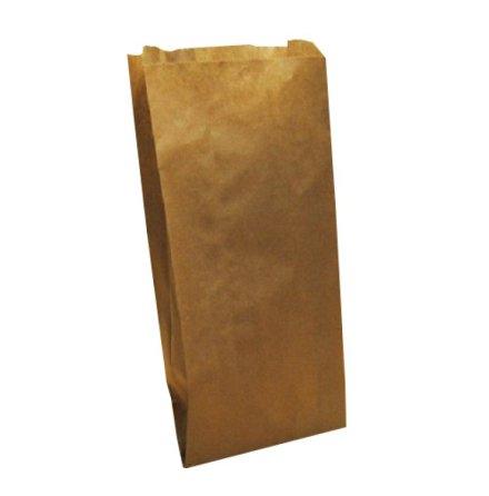 Plana påsar brunt kraftpapper 170x275