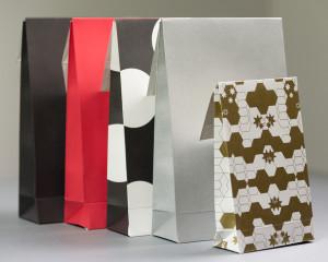 Presentpåse Spots 200x330x55