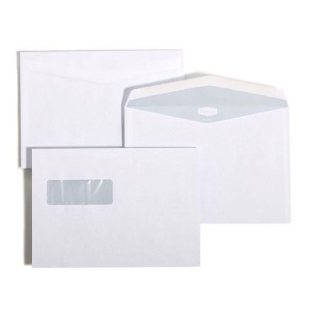 C5 Mailman 80gr fönster 63x100 FH