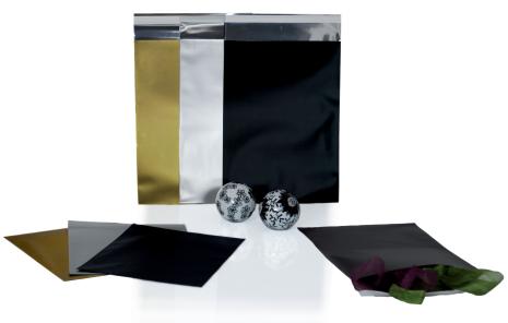 Foliepåse DVD Peel & Seal Matt Guld
