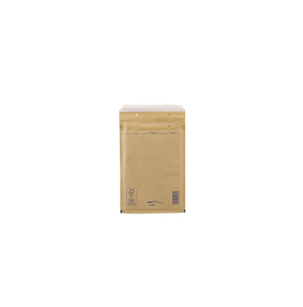 Luftbubbelpåse Gold/Brun Nr6 100st