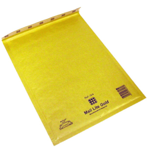 Luftbubbelpåse Gold C/0 100st