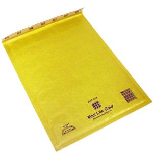 Luftbubbelpåse Gold H/5 50st