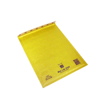 Luftbubbelpåse Gold J/6 50st