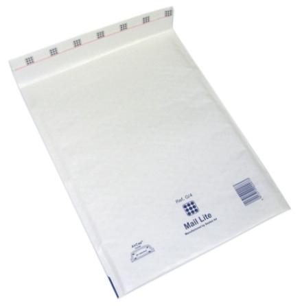 Luftbubbelpåse vit E/2 100st